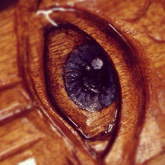 All seeing eye.....