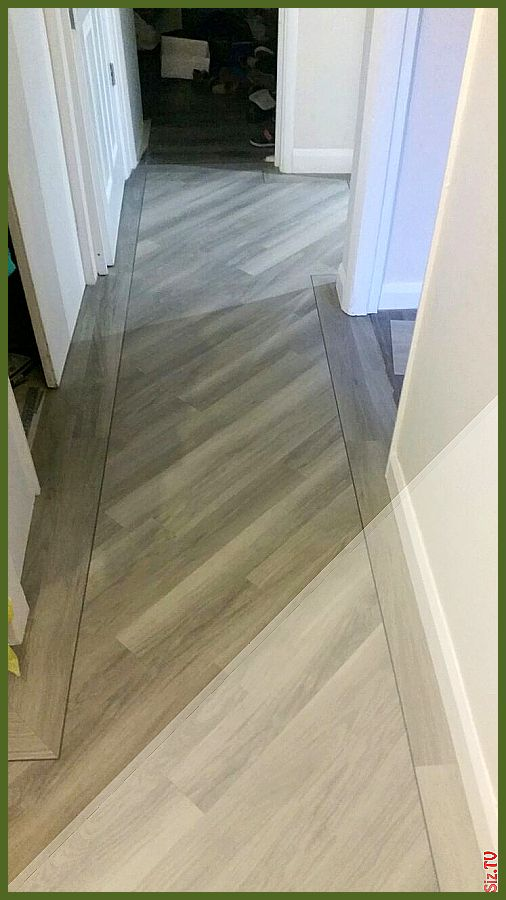 Tile Layout With Border Floors In 2019 Hallway Flooring ...
