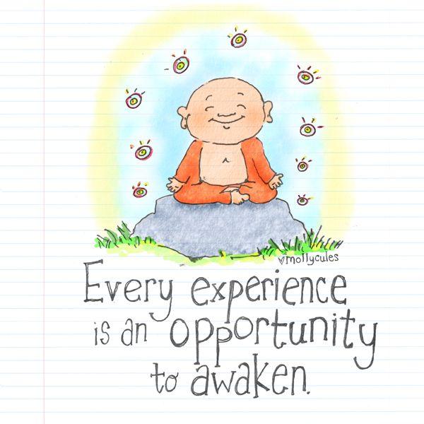 Buddha Doodle - 'Awaken' Books and Teeshirts available at www.buddhadoodles.com