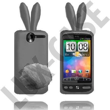 HTC Desire G7 Harmaat pupu suojakuoret!
