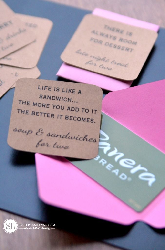 Date Night Gift Card Box