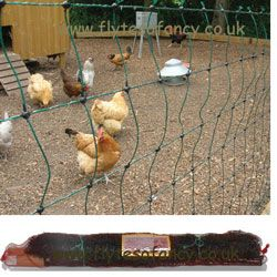 25m Hotline Standard Green Electric Poultry Netting