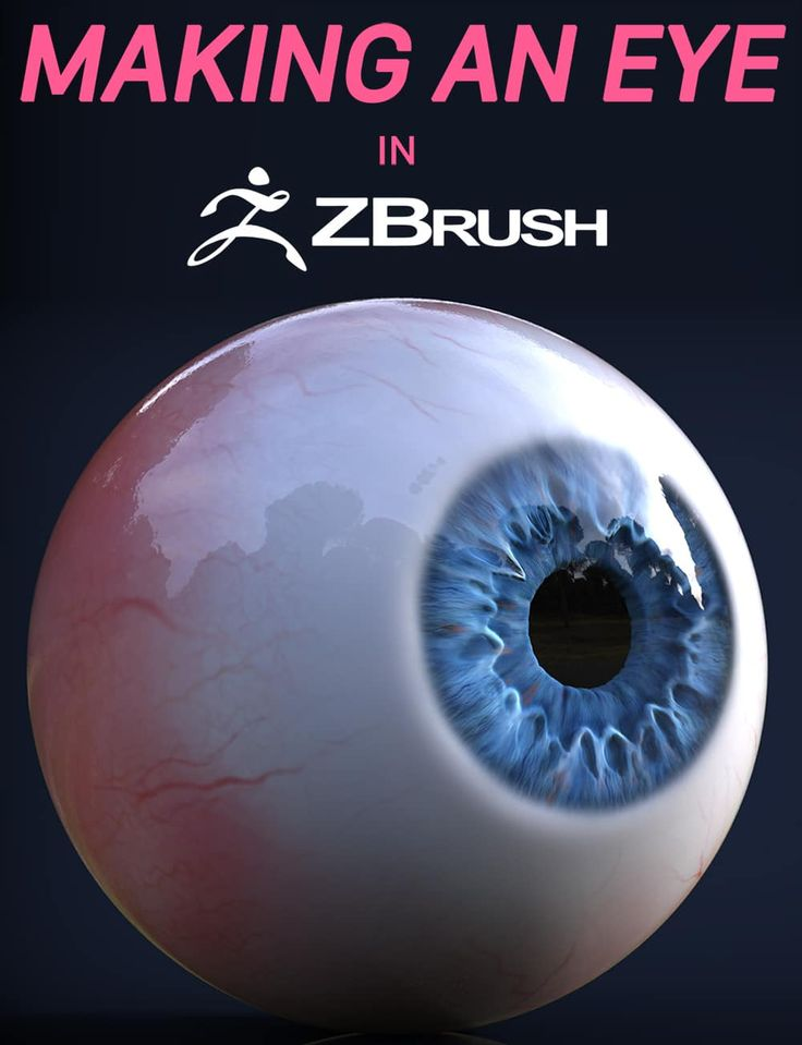 eye zbrush tutorial jhill