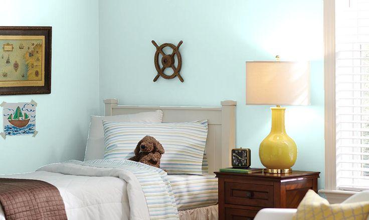 Behr Sea Ice Sam S Room Bedroom Color Schemes