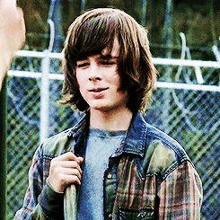 """The Walking Dead - Carl in """"A"""""""