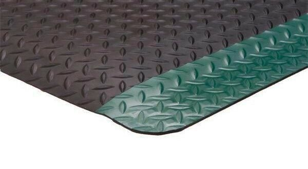 4 Ft Diamond Plate 1 8 Rubber Matting Industry Safety Floors Floor Protection In 2020 Safety Floor Diamond Plate Industrial Safety