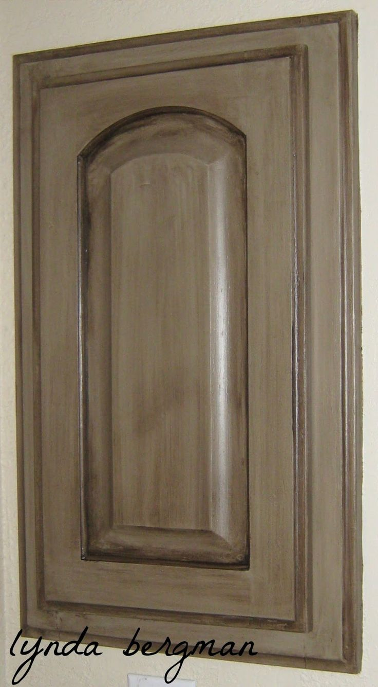 Painting Lori S Guest Bath Cabinets To An Aged Gray Brown
