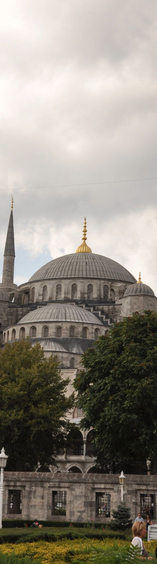 """Dome of The Sultan Ahmet Mosque """"Blue Mosque"""" in Istanbul 