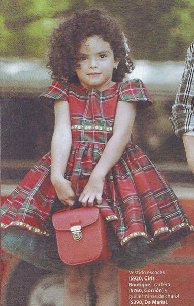 vestido escoces niña | vestido escoces para nena invierno 2014 by Girls boutique Diseños ...