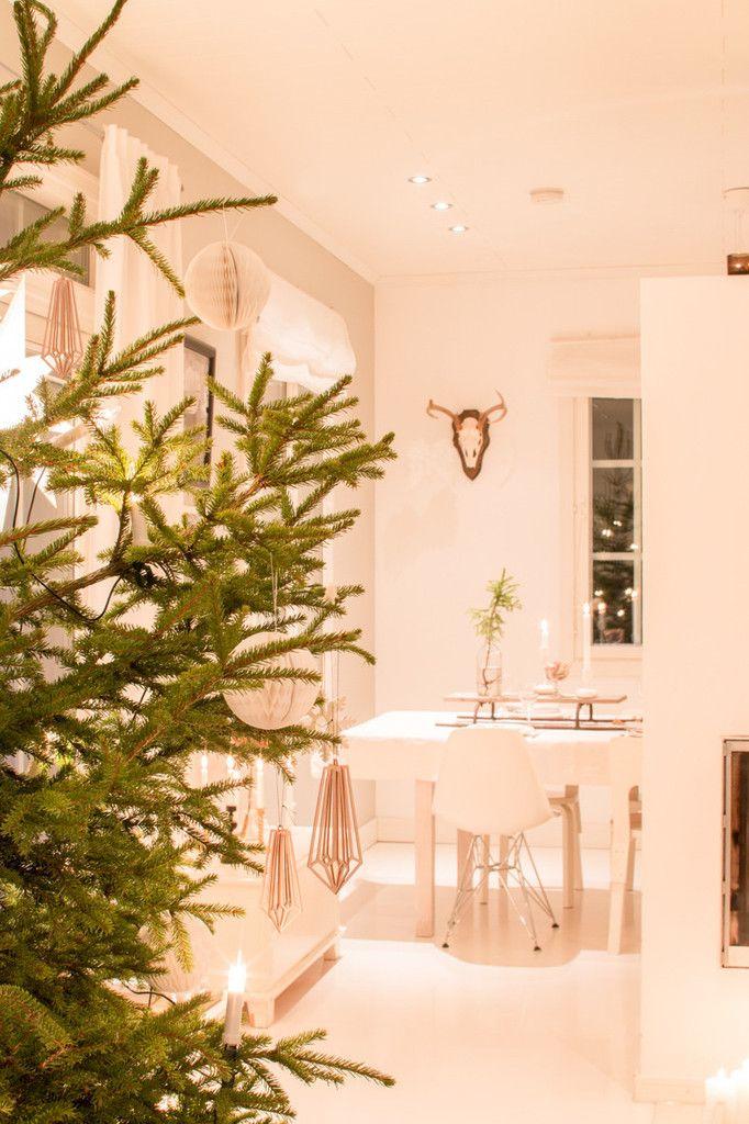 Cristalli di Betulla nel albero di Natale.