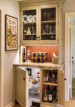 2014 Fox Valley Food For Health Kitchen Walk - farmhouse - Home Bar - Chicago - Past Basket Design