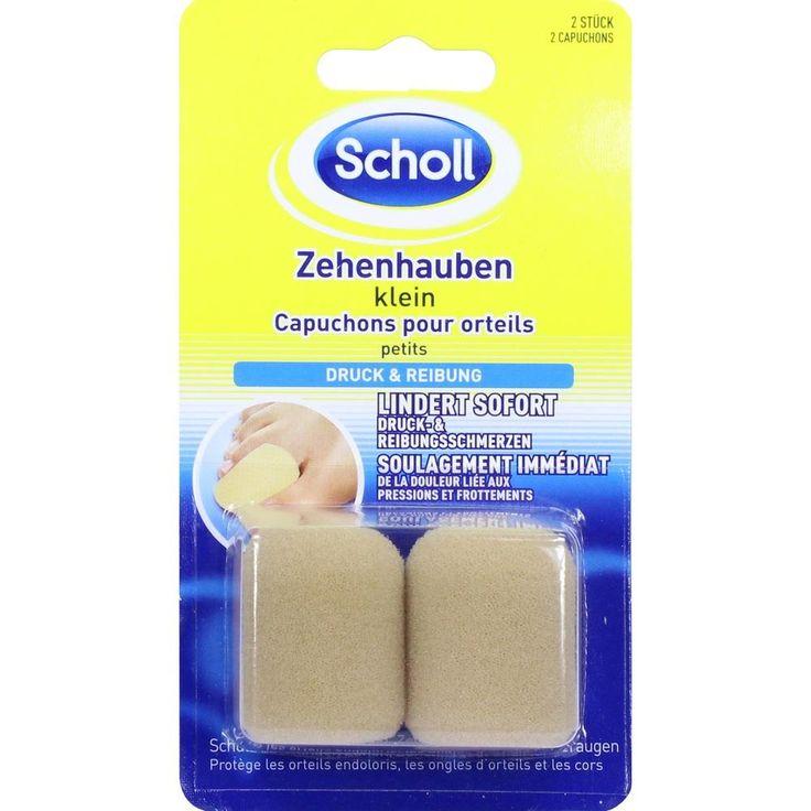 SCHOLL Zehenhauben klein:   Packungsinhalt: 2 St PZN: 11136139 Hersteller: Reckitt Benckiser Deutschland GmbH Preis: 2,85 EUR inkl. 19 %…