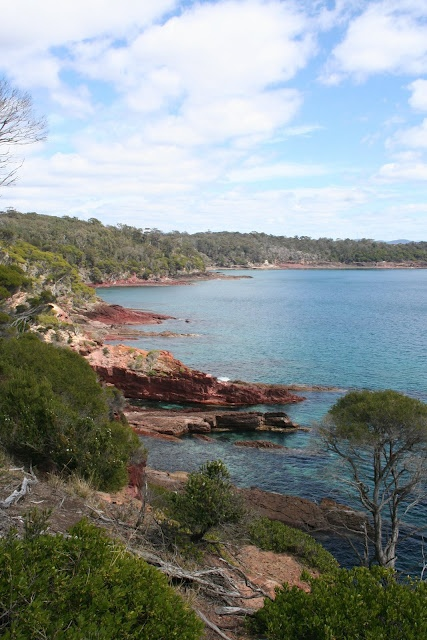 I've seen some very beautiful places...but my favourite place in the world is a small town on the NSW Far South Coast of Australia - Eden.