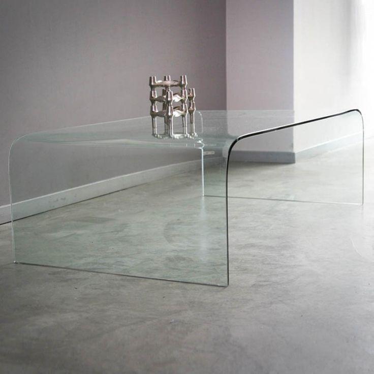 Trendy glazen salontafel Homebase Holy