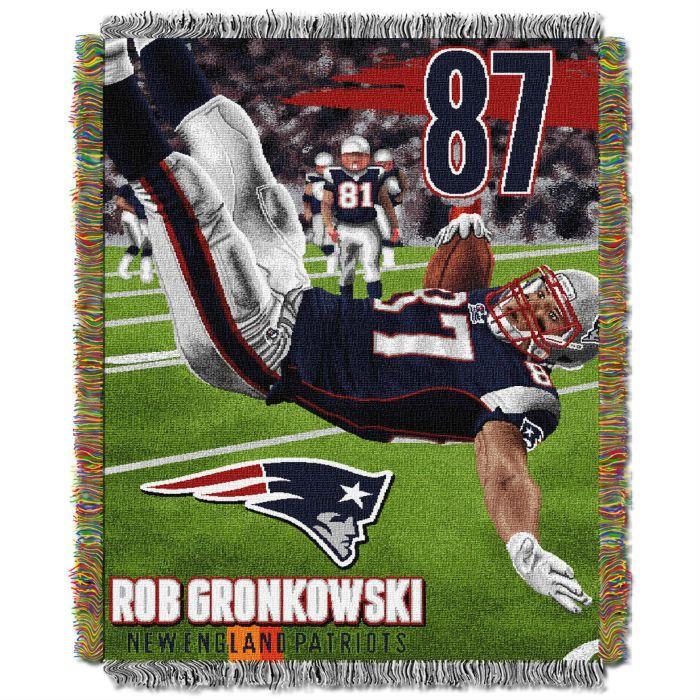 Rob Gronkowski New England Patriots Players Throw
