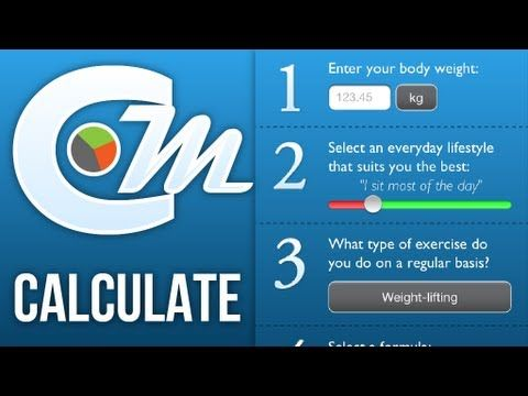Cals & Macros iPhone app - Calculate