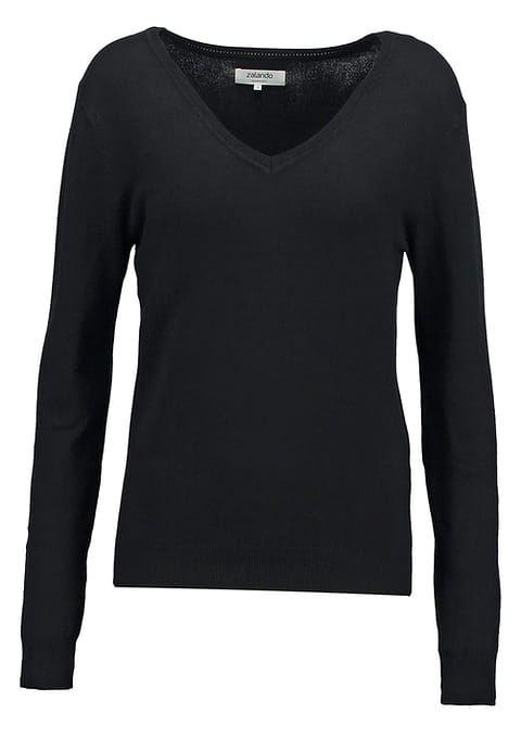 Zalando Essentials Sweter - black za 94 zł (11.06.17) zamów bezpłatnie na Zalando.pl.