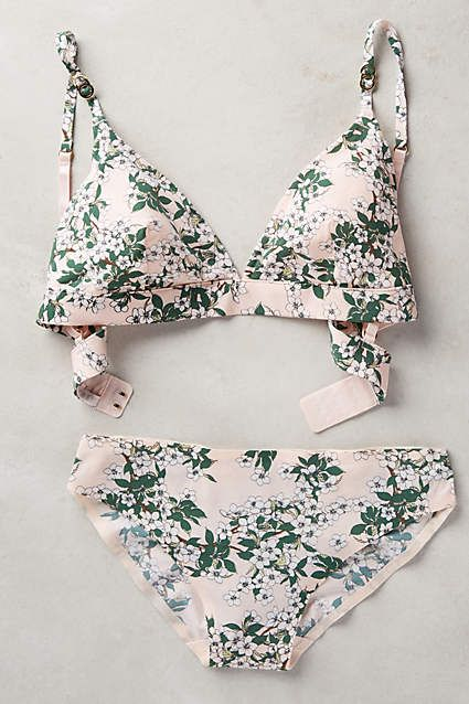 Stella McCartney Blushed Blossom Bikini - anthropologie.com