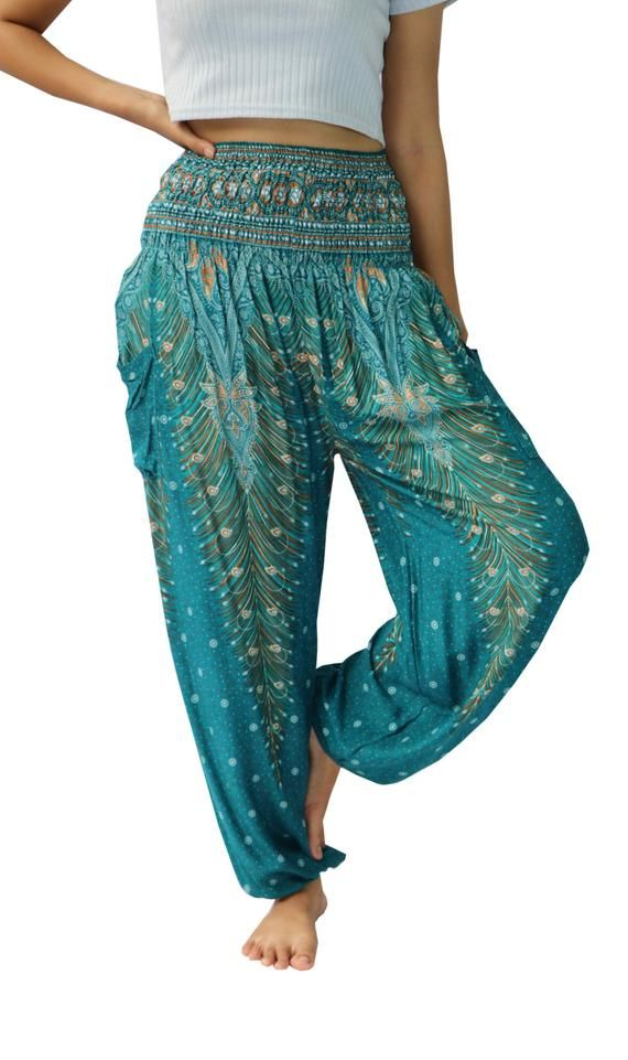 HP91 Harem Pants Women Yoga Pants Drop Crotch Aladdin Pants Maxi Pants Boho Pants Jumpsuits /& Rompers Harem Trousers Clothing Black White