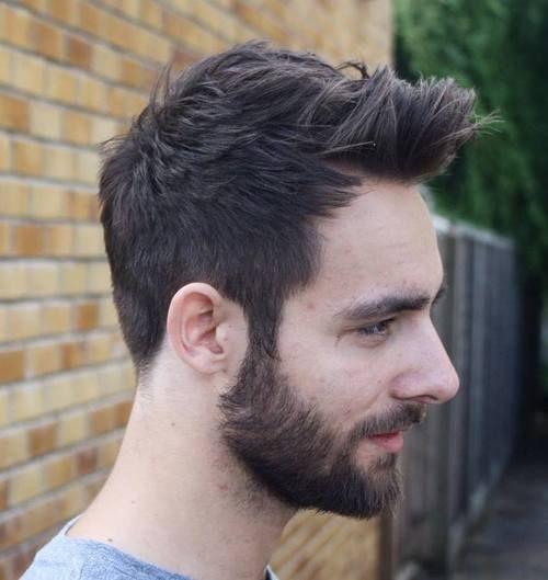 Beard and receding hairline http://www.hairgrowinggenius.com/