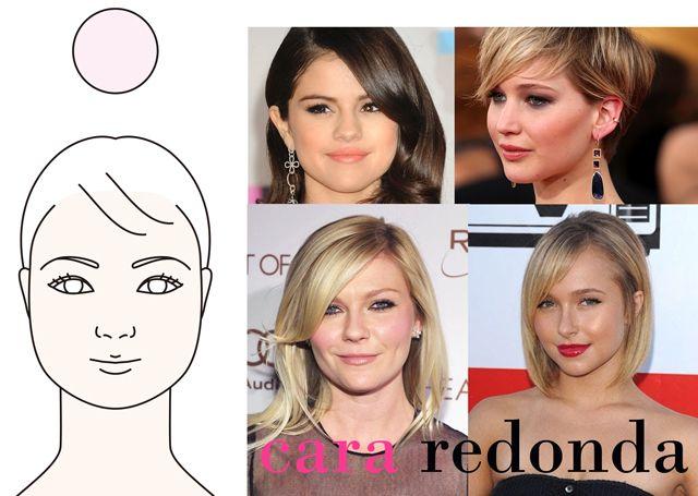 maquillaje cara redonda