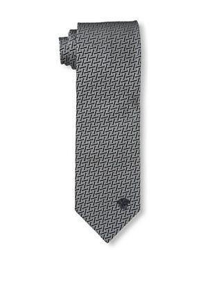 59% OFF Versace Men's Zigzag Tie, Black