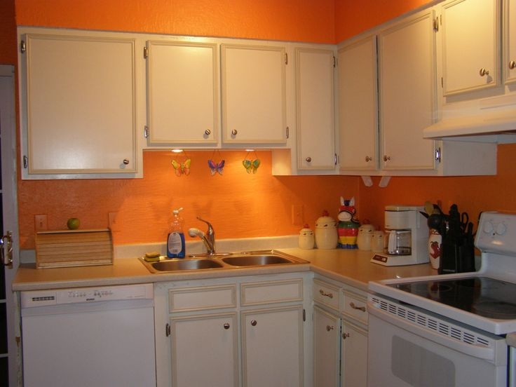 1000+ ide tentang orange kitchen paint di pinterest