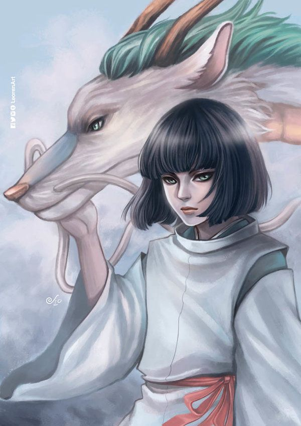 Haku Spirited Away By Leorenart Spirited Away Haku Studio Ghibli Spirited Away Studio Ghibli Fanart