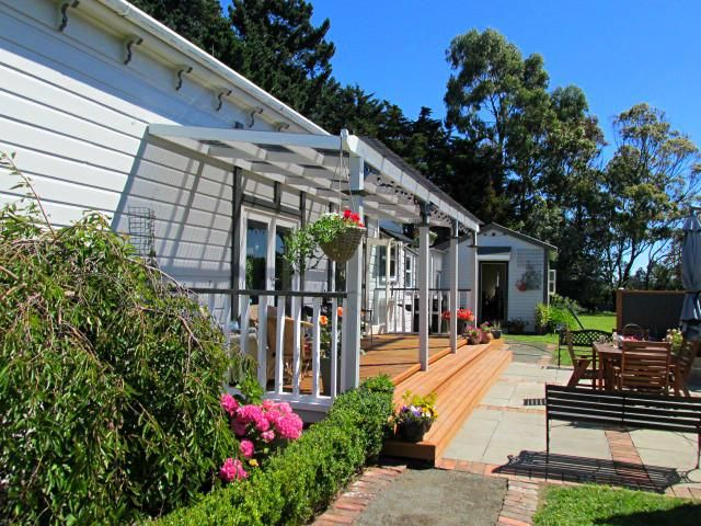 The side verandah/deck of our 1890's villa in marton, Rangitikei, New Zealand.