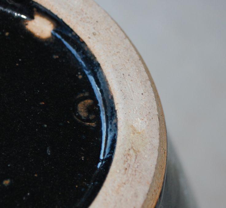Mark under the buttom af the tenmoku-vase-