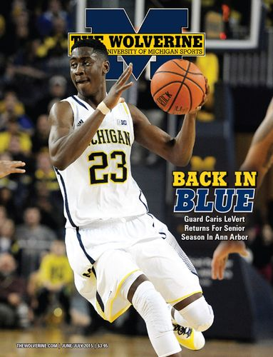The June-July 2015 issue of The Wolverine, our annual Basketball Recruiting issue, has guard Caris LeVert on the cover. The feature stories inside cover LeVert's decision to return to U-M for his senior season, and John Beilein's recruiting approach.  There are also profiles of three basketball commitments for 2016, and a look at five key questions about the football team heading into the summer. This issue also includes a profile of U-M's newest football pledge, football notes, recruiting…