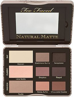 Too Faced Natural Matte Palette now available on Ulta.com