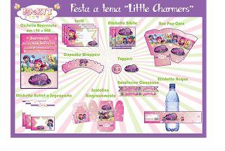 "Festa stampabile a tema ""Little Charmers"""