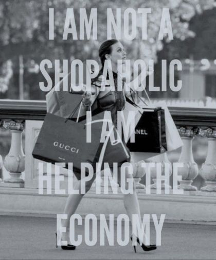 Lifestyle - Shopping Is Good For The Economy