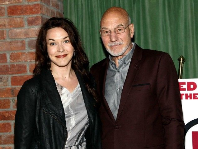 Patrick Stewart & Sunny Ozell married