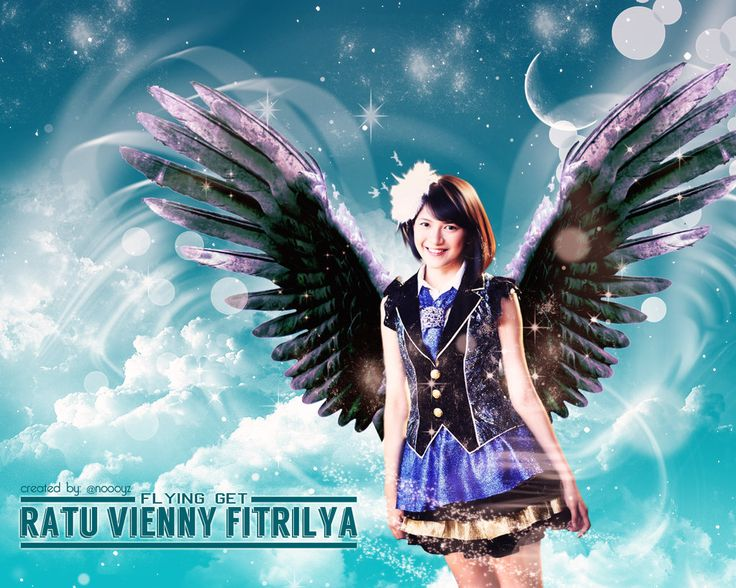 Flying Get ( @Viny_JKT48 ) by dikapr.deviantart.com on @deviantART