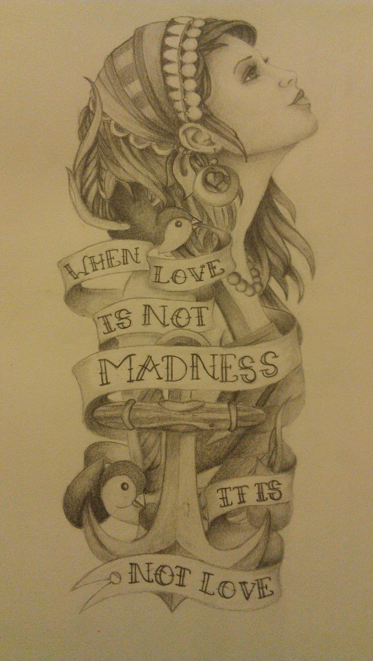 when love is not madness it is not love