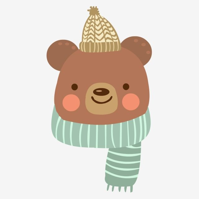 Animal Character Cold Cartoon Bear Animal Cartoon Little Animal Cute Little Animal Png And Vector With Transparent Background For Free Download Bear Cartoon Kitten Cartoon Cartoon