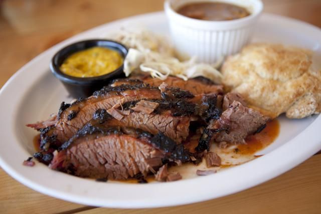 This brisket recipe calls for a delicious rub made of chipotle peppers. Make sure that the peppers are finely ground before using.
