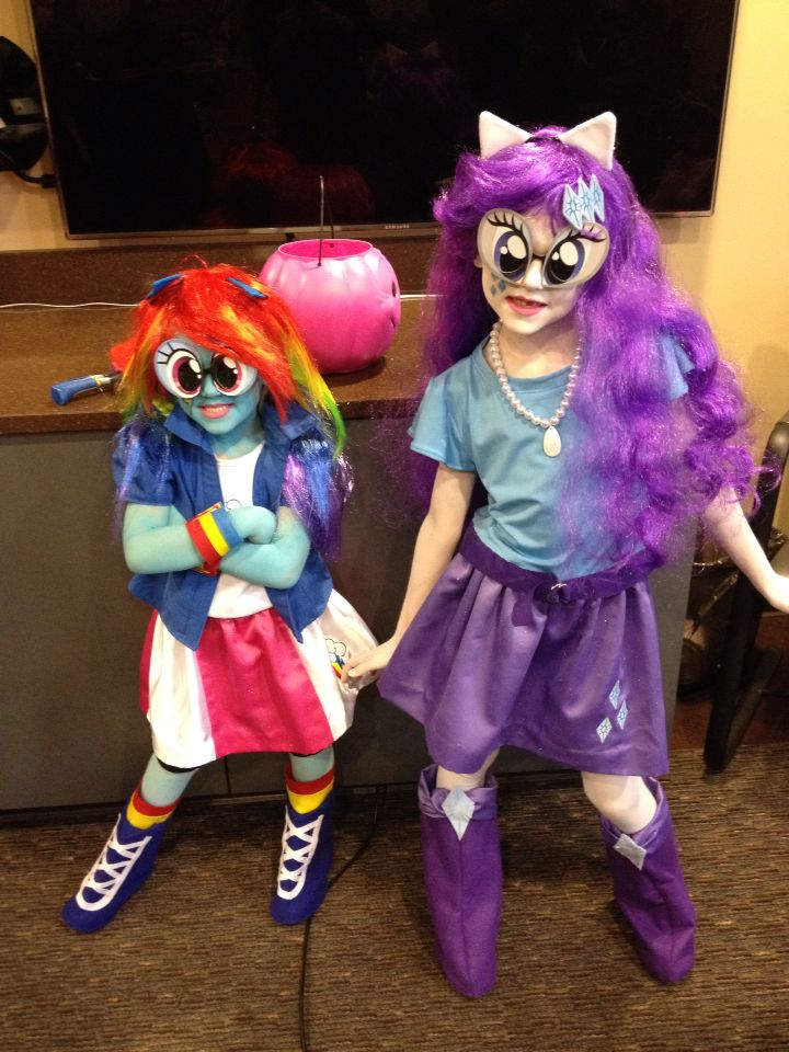 Equestria Girls Rainbow Dash And Rarity On Pinterest