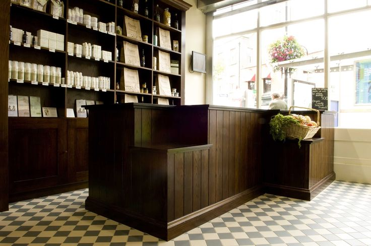 Organic Supermarket Blackrock | fineline interior design