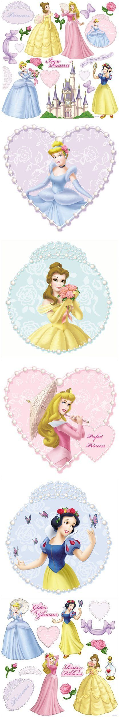 Disney Princess and Pearls Decorating Kit - Wall Sticker Outlet