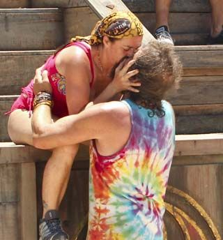 """Rupert Boneham was the first castaway to be sent home from Redemption Island on """"Survivor: Blood vs. Water."""" He tells Zap2it he has no regrets because his wife gets to play the game he loves so much."""