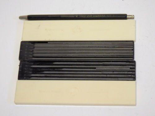 vtg-BOHEMIA-WORKS-Toison-DOR-Czechoslovakia-mechanical-pen-5217-2x-leads-box