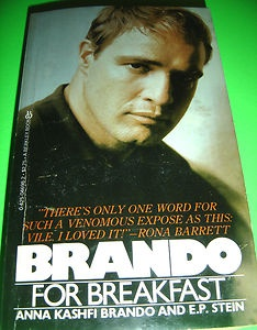 BRANDO FOR BREAKFAST BY ANNA KASHFI BRANDO AND E.P. STEIN DEC 1980 PB BOOK