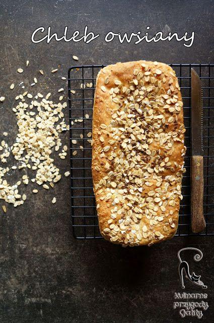Kulinarne przygody Gatity: Drożdżowy chleb owsiany