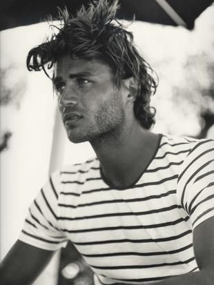 stripesThis Man, Crazy Hair, Christian, Messy Hair, Men Fashion, Stripes, Stylish Men, Beach Hair, Male Models