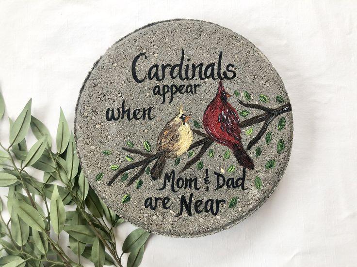 Cardinal gift mom dad memorial gift memorial cardinal