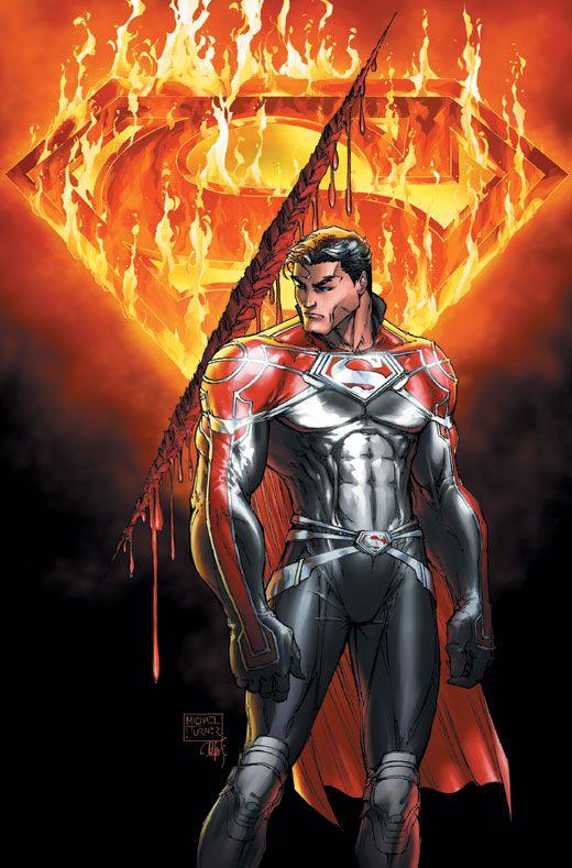 Superman: Godfall by Michael Turner  #Comics #Illustration #Drawing