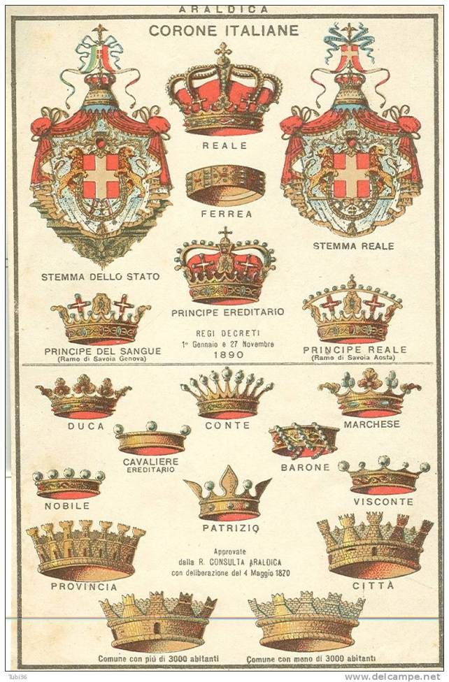 Corone Italiane